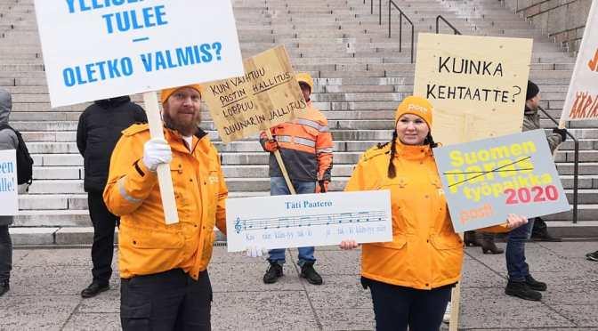 Sosialidemokraatit jarruttelemassa työväenliikettä